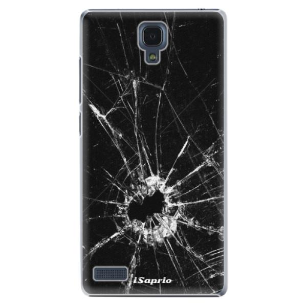 Plastové pouzdro iSaprio - Broken Glass 10 - Xiaomi Redmi Note