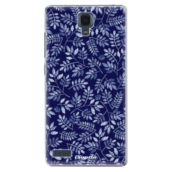Plastové pouzdro iSaprio - Blue Leaves 05 - Xiaomi Redmi Note