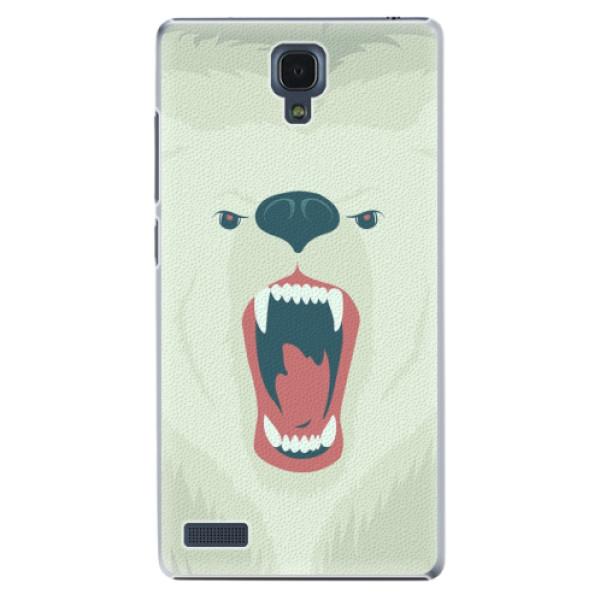 Plastové pouzdro iSaprio - Angry Bear - Xiaomi Redmi Note