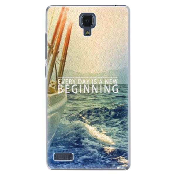Plastové pouzdro iSaprio - Beginning - Xiaomi Redmi Note