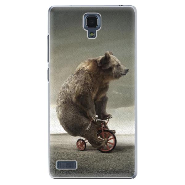 Plastové pouzdro iSaprio - Bear 01 - Xiaomi Redmi Note