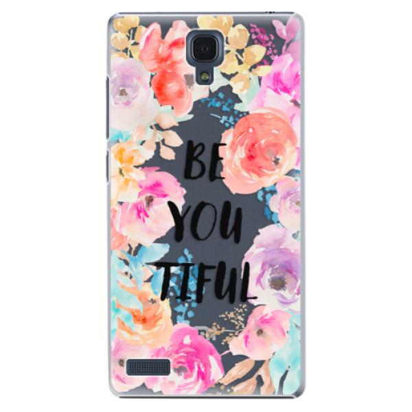 Plastové pouzdro iSaprio - BeYouTiful - Xiaomi Redmi Note