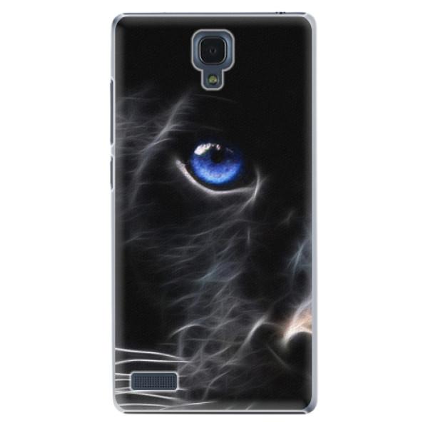 Plastové pouzdro iSaprio - Black Puma - Xiaomi Redmi Note