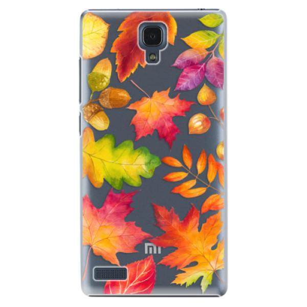 Plastové pouzdro iSaprio - Autumn Leaves 01 - Xiaomi Redmi Note