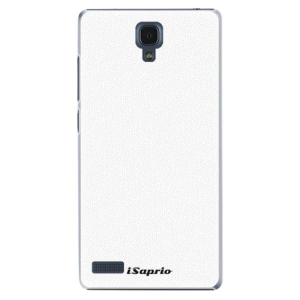 Plastové pouzdro iSaprio - 4Pure - bílý - Xiaomi Redmi Note