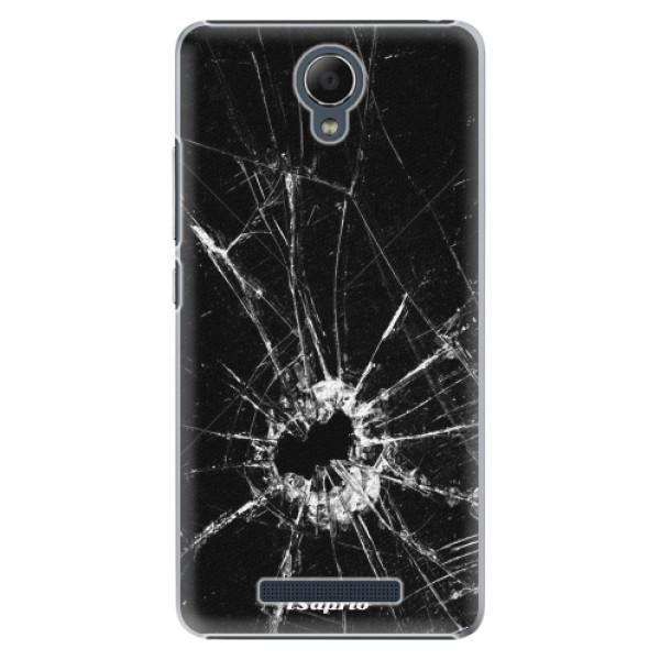 Plastové pouzdro iSaprio - Broken Glass 10 - Xiaomi Redmi Note 2