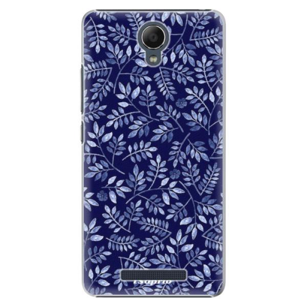 Plastové pouzdro iSaprio - Blue Leaves 05 - Xiaomi Redmi Note 2