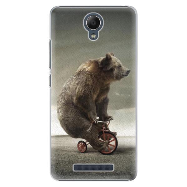 Plastové pouzdro iSaprio - Bear 01 - Xiaomi Redmi Note 2