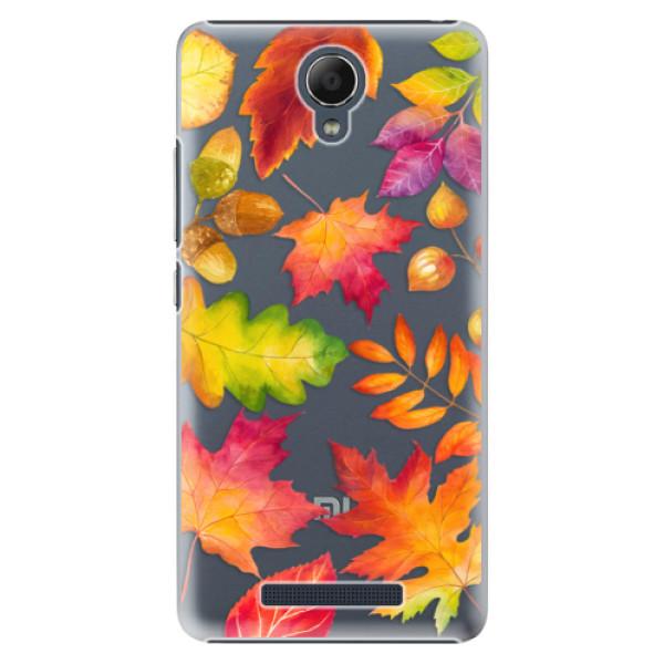 Plastové pouzdro iSaprio - Autumn Leaves 01 - Xiaomi Redmi Note 2