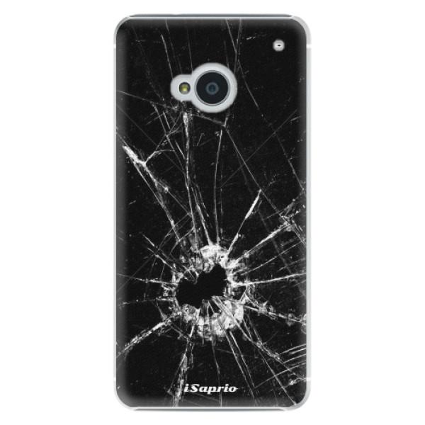 Plastové pouzdro iSaprio - Broken Glass 10 - HTC One M7