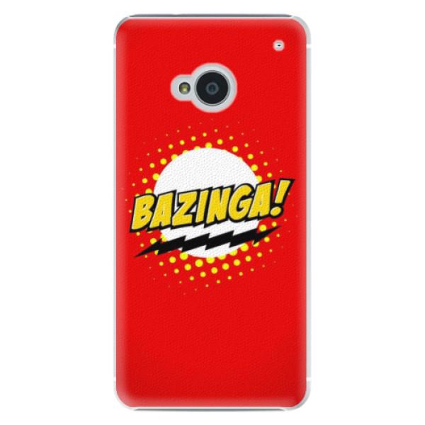 Levně Plastové pouzdro iSaprio - Bazinga 01 - HTC One M7