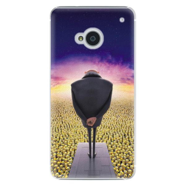 Plastové pouzdro iSaprio - Gru - HTC One M7