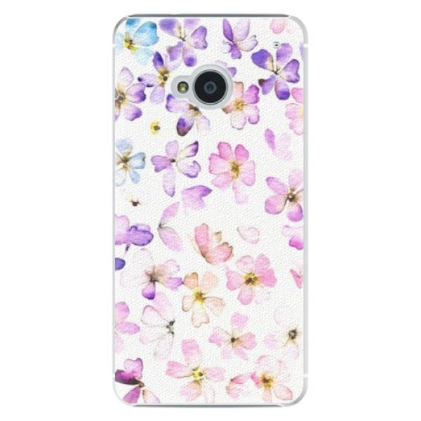 Plastové pouzdro iSaprio - Wildflowers - HTC One M7