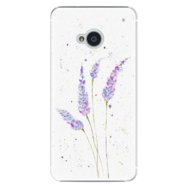 Plastové pouzdro iSaprio - Lavender - HTC One M7