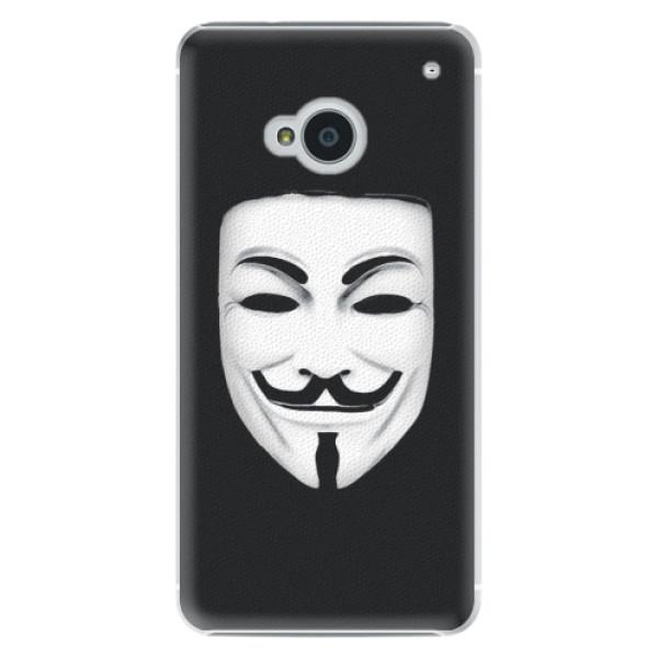 Plastové pouzdro iSaprio - Vendeta - HTC One M7