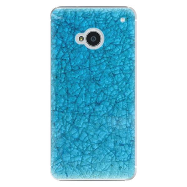 Plastové pouzdro iSaprio - Shattered Glass - HTC One M7