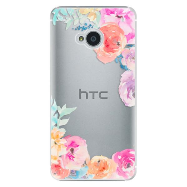 Plastové pouzdro iSaprio - Flower Brush - HTC One M7