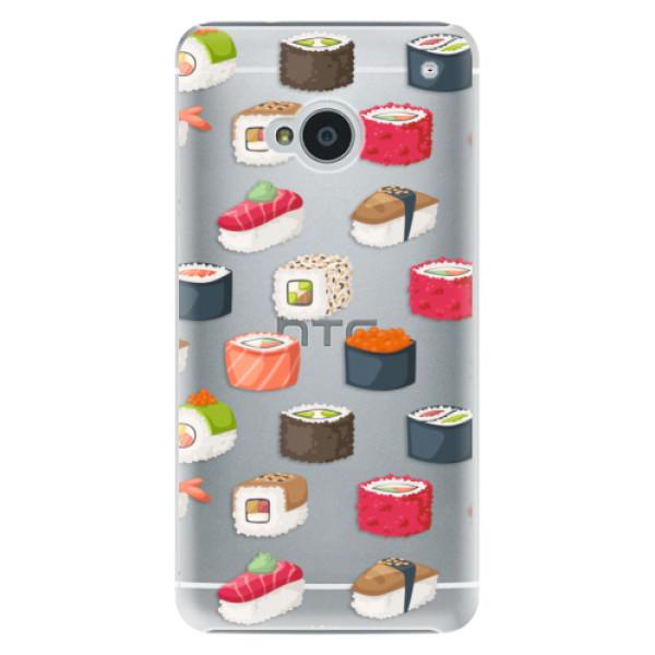 Plastové pouzdro iSaprio - Sushi Pattern - HTC One M7