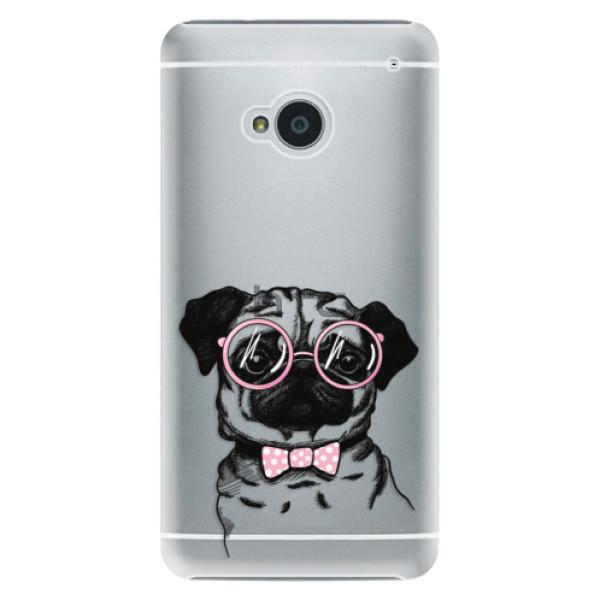 Plastové pouzdro iSaprio - The Pug - HTC One M7