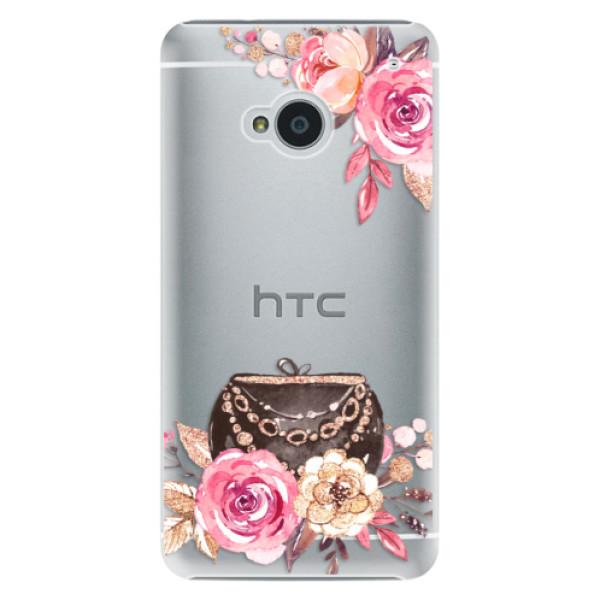 Plastové pouzdro iSaprio - Handbag 01 - HTC One M7