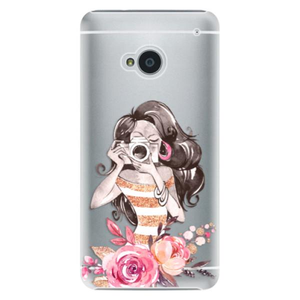 Plastové pouzdro iSaprio - Charming - HTC One M7