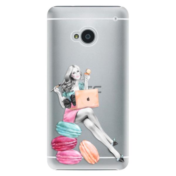 Plastové pouzdro iSaprio - Girl Boss - HTC One M7