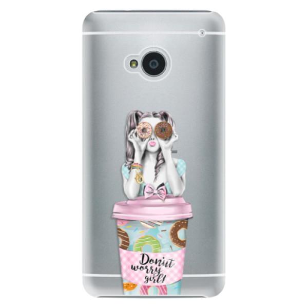 Plastové pouzdro iSaprio - Donut Worry - HTC One M7
