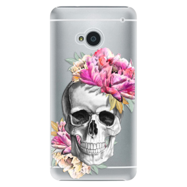 Plastové pouzdro iSaprio - Pretty Skull - HTC One M7