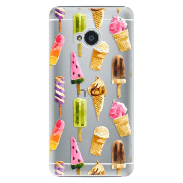 Plastové pouzdro iSaprio - Ice Cream - HTC One M7