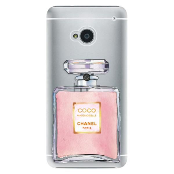 Plastové pouzdro iSaprio - Chanel Rose - HTC One M7
