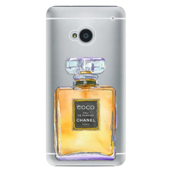Plastové pouzdro iSaprio - Chanel Gold - HTC One M7