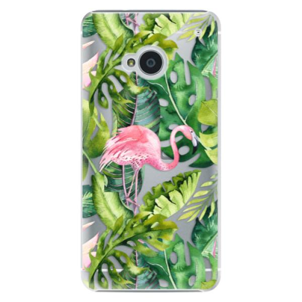 Plastové pouzdro iSaprio - Jungle 02 - HTC One M7