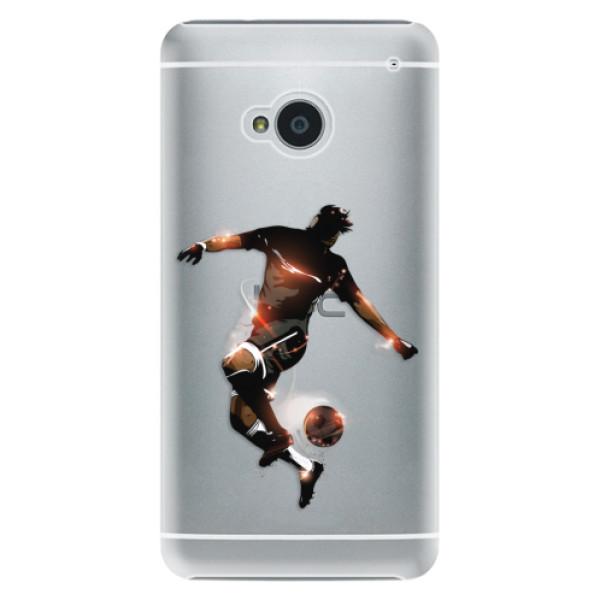 Plastové pouzdro iSaprio - Fotball 01 - HTC One M7