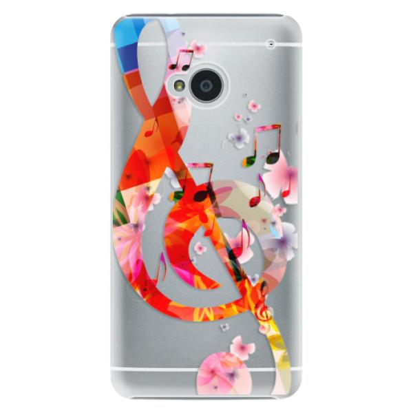 Plastové pouzdro iSaprio - Music 01 - HTC One M7