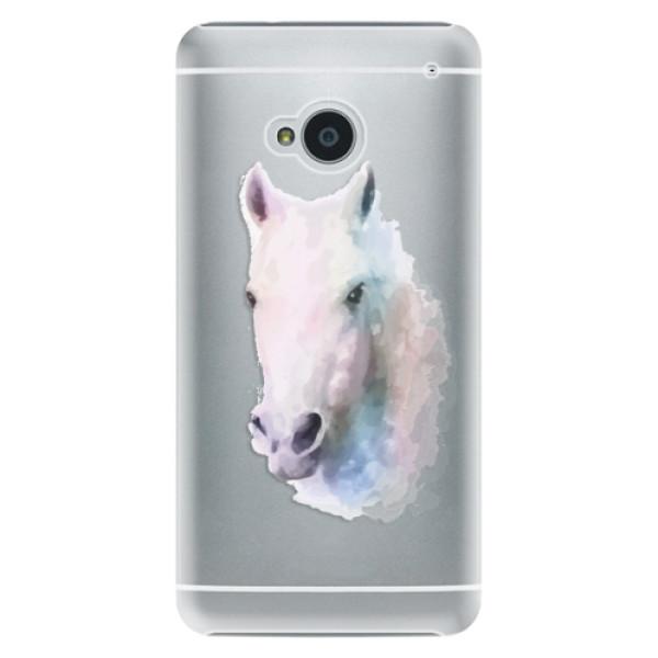 Plastové pouzdro iSaprio - Horse 01 - HTC One M7