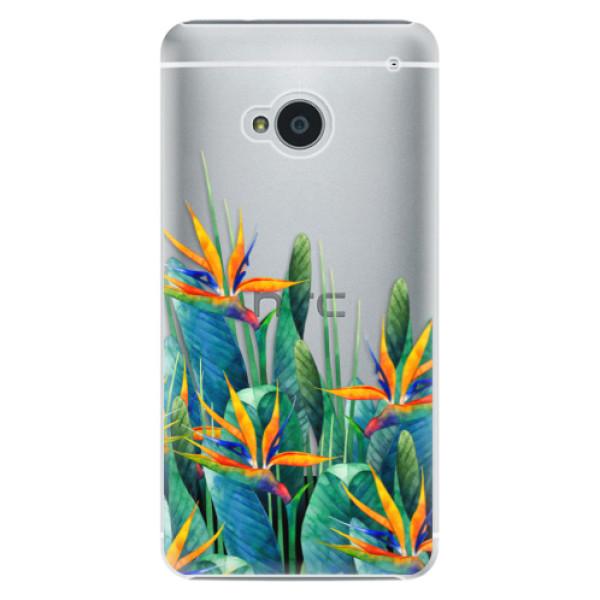 Plastové pouzdro iSaprio - Exotic Flowers - HTC One M7