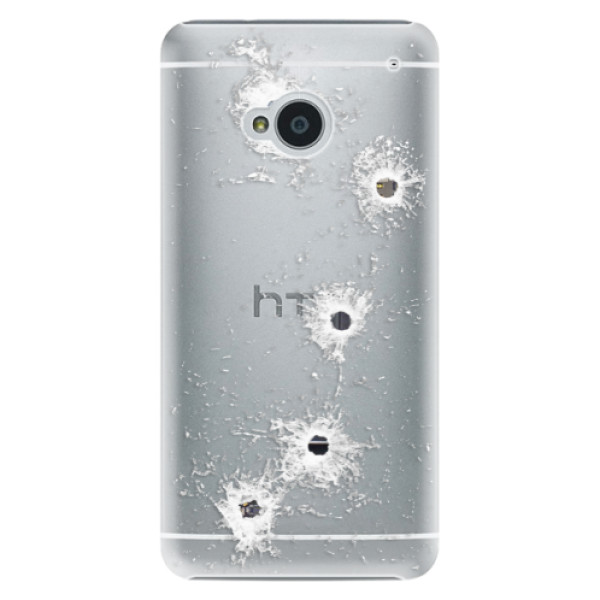 Plastové pouzdro iSaprio - Gunshots - HTC One M7