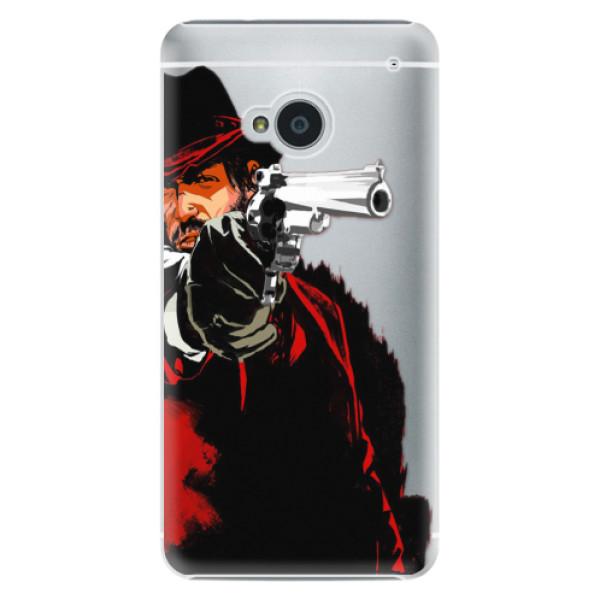 Plastové pouzdro iSaprio - Red Sheriff - HTC One M7