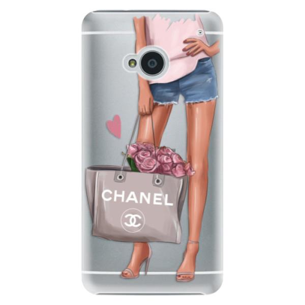 Plastové pouzdro iSaprio - Fashion Bag - HTC One M7