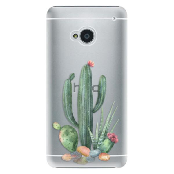 Plastové pouzdro iSaprio - Cacti 02 - HTC One M7
