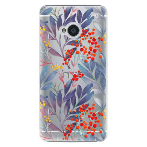 Plastové pouzdro iSaprio - Rowanberry - HTC One M7