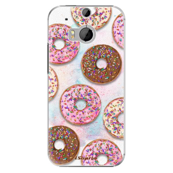 Plastové pouzdro iSaprio - Donuts 11 - HTC One M8