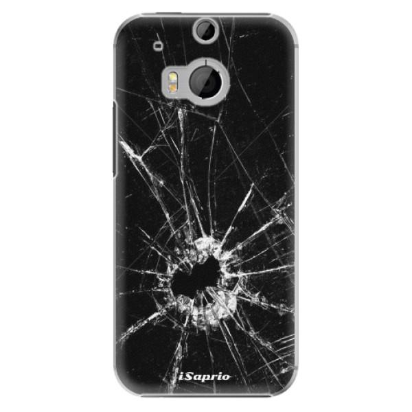 Plastové pouzdro iSaprio - Broken Glass 10 - HTC One M8
