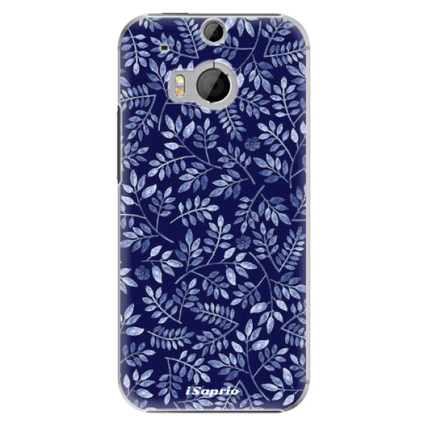 Plastové pouzdro iSaprio - Blue Leaves 05 - HTC One M8