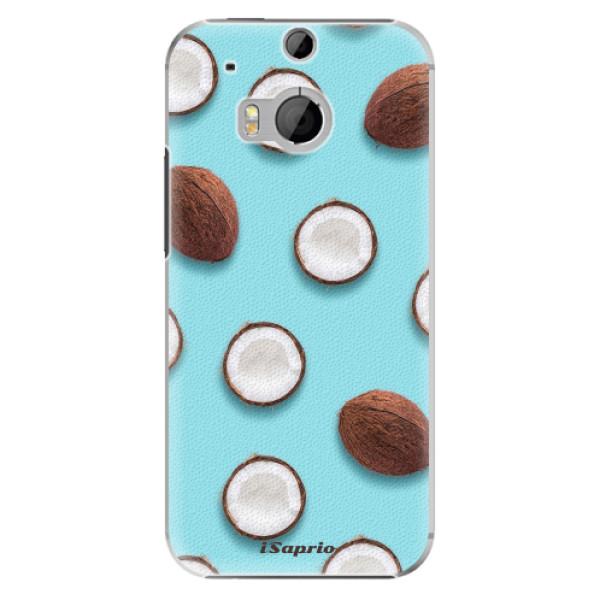 Plastové pouzdro iSaprio - Coconut 01 - HTC One M8