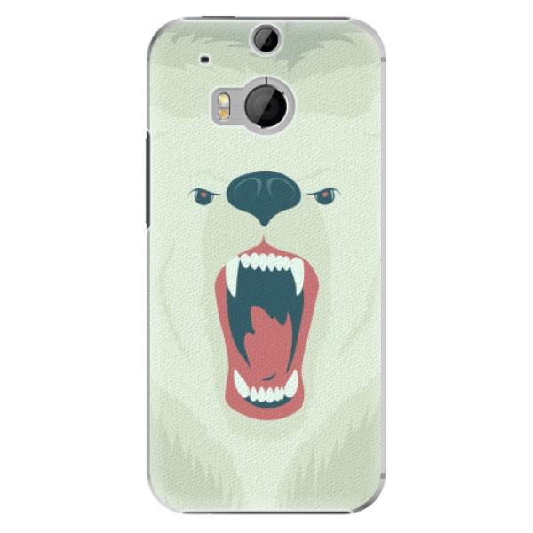 Plastové pouzdro iSaprio - Angry Bear - HTC One M8