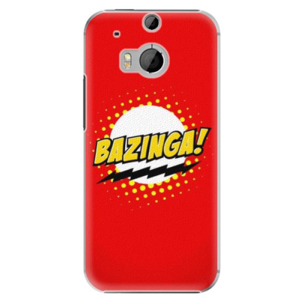 Levně Plastové pouzdro iSaprio - Bazinga 01 - HTC One M8