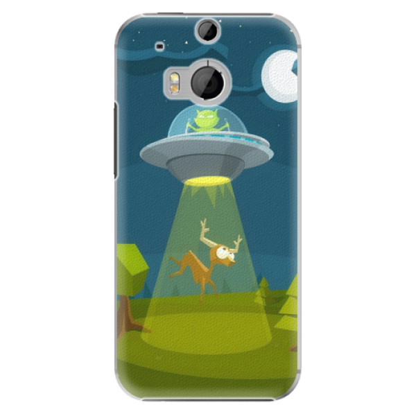 Plastové pouzdro iSaprio - Alien 01 - HTC One M8