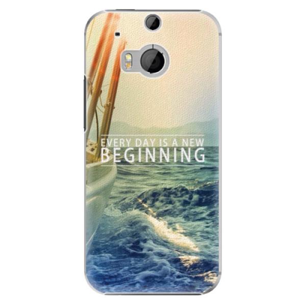 Plastové pouzdro iSaprio - Beginning - HTC One M8