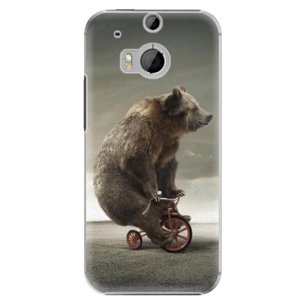 Plastové pouzdro iSaprio - Bear 01 - HTC One M8